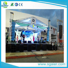 Party Led Screen Truss , Aluminum Truss Roof Systems Ce / Tuv Certificated