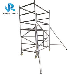 Flexible Aluminium Mobile Scaffold Work Platform Ringlock With Complete Accessories